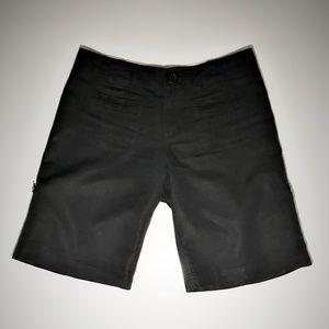 Sanctuary Linen Cargo/Utility Shorts Vintage Black